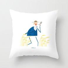 A walk with Van Gogh Throw Pillow