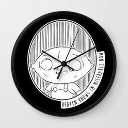 Heaven Knows Stewie Wall Clock