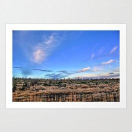 Colorado Blue Sky Art Print