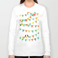 flag Long Sleeve T-shirts featuring Carnival is coming to town by Picomodi