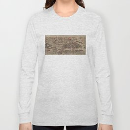 Panoramic view of the Rehe Imperial Palace between 1875-1900 [Rehe xing gong quan tu] Long Sleeve T-shirt
