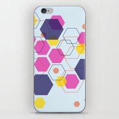 Hexagon Wonderland iPhone Skin