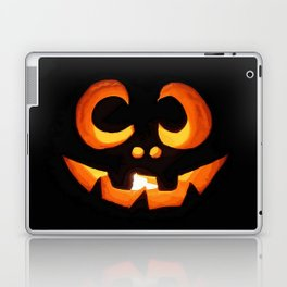 Vector Image of Friendly Halloween Pumpkin Laptop & iPad Skin