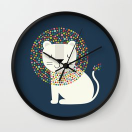 As A Lion Wall Clock