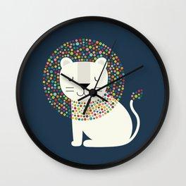As A Lion Wall Clock