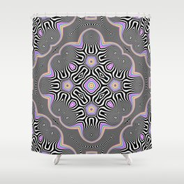 Candy & Mint Pattern No.2 Shower Curtain