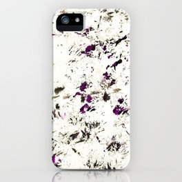 My dog walked all over this... iPhone Case