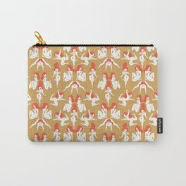 Pattern Pin-Up (gold) Carry-All Pouch