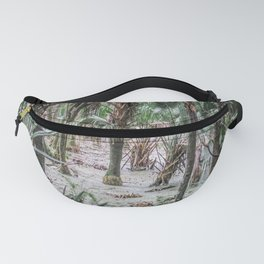 Palm Trees in the Green Swamp Fanny Pack