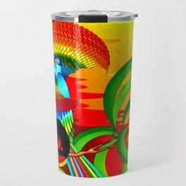 Paradise Bird Travel Mug