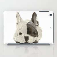puppy iPad Cases featuring puppy by Winnie draws