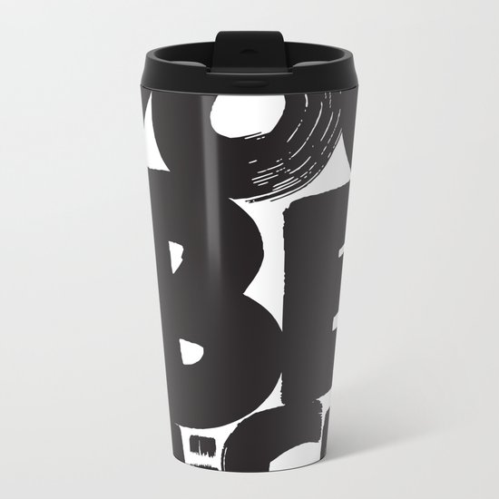 YOU BE NICE Metal Travel Mug