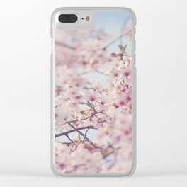 SPRING DAYDREAMING Clear iPhone Case