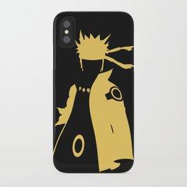 Naruto Six Paths Minimalist Phone Case iPhone Case