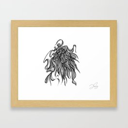 Lord Framed Art Print