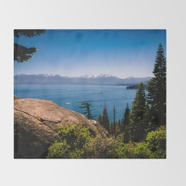 What Lies Beyond the Forest Throw Blanket