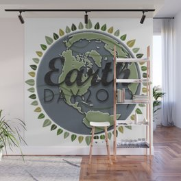 Earth Day 2019 - Textured paper Wall Mural