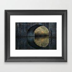 Eye of the bridge Framed Art Print