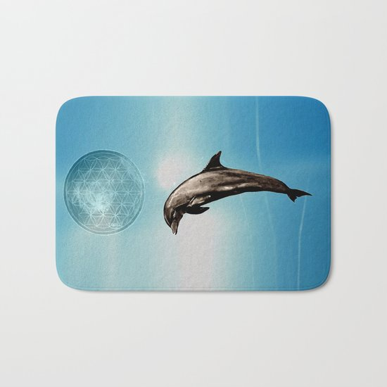 The DOLPHIN - ZEN version Bath Mat