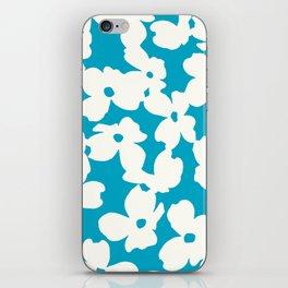 Dogwood: Caribbean Blue iPhone Skin