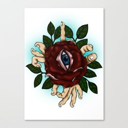 divine eye Canvas Print