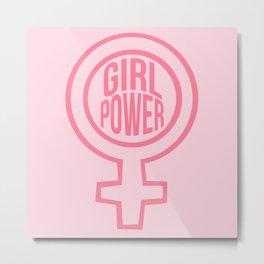 girl power Metal Print