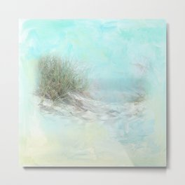 Tranquil Shores - Dunes Metal Print