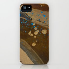 joelarmstrong_rust&gold_072 iPhone Case