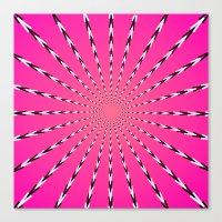 artpop Canvas Prints featuring ARTPOP by Jo Veronne
