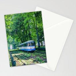 Polish Tram. Stationery Cards