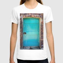 Kylemore Abbey Victorian Garden Door T-shirt