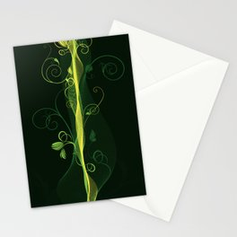 Glowing Vines Stationery Cards