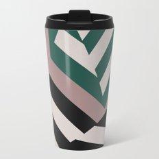 ASDIC/SONAR Dazzle Camouflage Graphic Design Metal Travel Mug