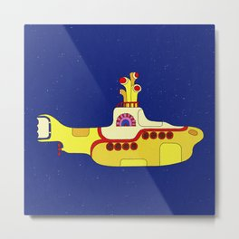 We all live in a yellow submarine Metal Print