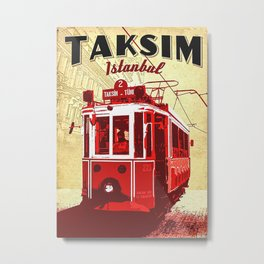 Taksim Metal Print