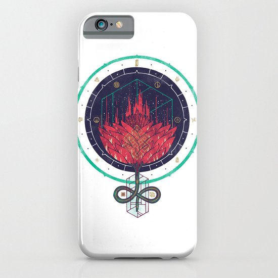 Fading Dahlia iPhone & iPod Case