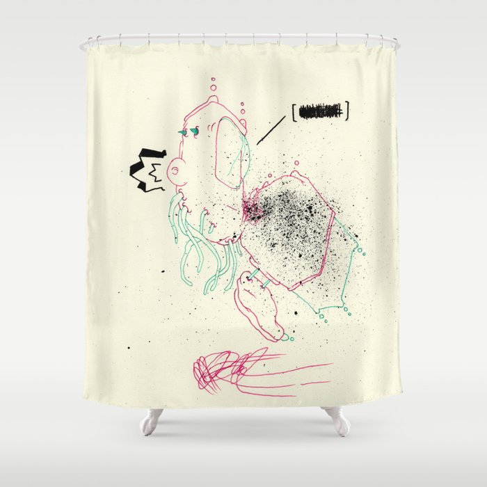 First words that come to mind Shower Curtain