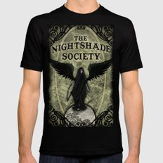 The Nightshade Society X-LARGE Mens Fitted Tee Black