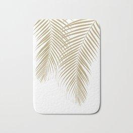 Summer Palm Leaves #1 #tropical #decor #art #society6 Bath Mat