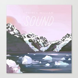 Prince William Sound Canvas Print