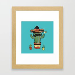 Don Cacto  Framed Art Print