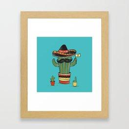 Don Cacto  Framed Art Print
