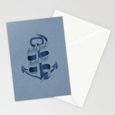 Hold fast, hold true Stationery Cards