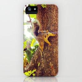 Super Squirrel iPhone Case