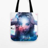 2ne1 Tote Bags featuring America  by LC_Korim