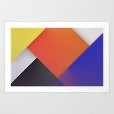 THEO VAN DOESBURG Art Print