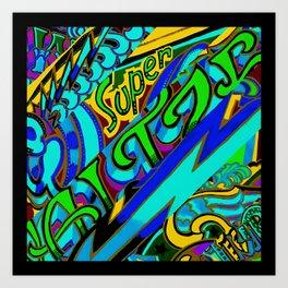 Super Watzer Trip Art Print