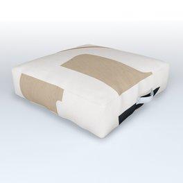 abstract minimal 6 Outdoor Floor Cushion