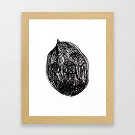 In a nutshell Framed Art Print
