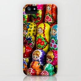 Matryoshka Gang iPhone Case